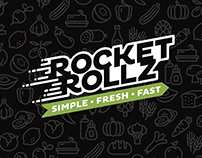 Rocket Rollz | Logo and Sationery