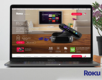 Roku: Site Redesign