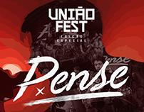 Flyer: Unão Fest Edição Especial apresenta Pense (BH)