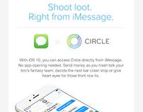 iMessage x Circle