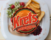 Krets Pizza House Branding