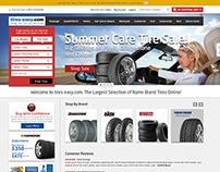 tires-easy.com website design