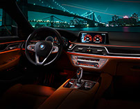 BMW 730 LD Interior