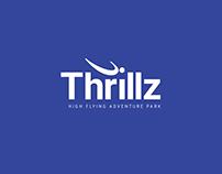 Thrillz high flying adventure park branding