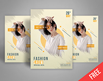 FREE Psd poster template