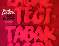 Cartel para Zabaltegi-Tabakalera (San Sebastián, 2017).