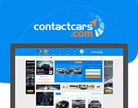 ContactCars Website Redesign
