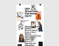 AFA Showroom Fall Winter 16/17