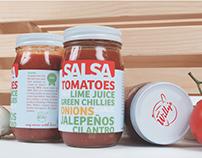 Wee Willy's Salsa Rebranding