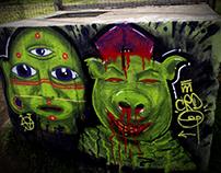 Rostros Verdes Feat. Animo