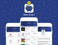 Refer & Earn App