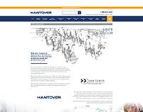 Hantover Website Facelift