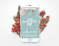 My Wonder Day - Web