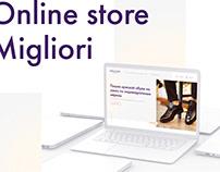 Online store Migliori - UI-UX Design