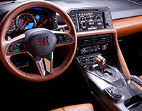 2019 Nissan GT-R | CGI Interior