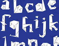 Folded Typeface