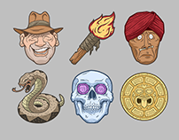 Indy Icon Illustrations