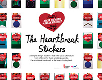 Heartbreak Stickers