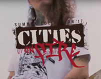 Cities on Fire :: Santo Rock® Summer Collection '17