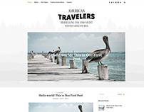 WordPress Blog Theme. Clean & Simple & Responsive