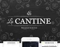 La cantine | UX/UI Design, Food app & Branding