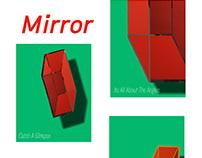 Screen Print Mirror NO.2