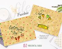 Freebie - Cute Love Cards