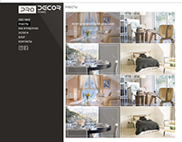 website design Prodecor