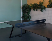 PINPUNK concrete table by AtelierB
