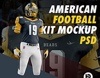 American Football Kit Mockup V1
