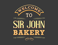 Sir John Bakery- Vintage Restaurant Web Design