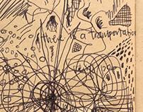 My Trickling Love (sketchbook page)