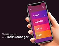 Tasks Manager App