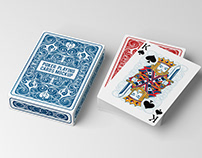 Free Poker Playing Cards Mockup