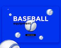 Baseball. Sport. Design