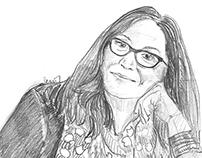 Handan İnci Portre Draw