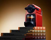 3D CGI Photo-Realistic Nespresso