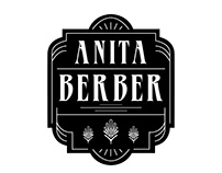 Logo and Menu Design for 'Anita Berber'