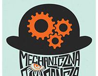 Mechaniczna Pomarancza (Clockwork Orange) Poster Design