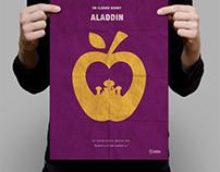 Cartel Minimalista Aladdin | Minimalist Poster Aladdin