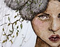 Circe Invidiosa - Watercolor Art