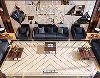 Modern reception design in Saudi