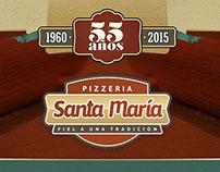 Pizzería Santa María - Rosario