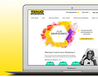 ENJOpreneur Landing Page