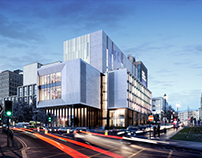 Leeds Beckett University - Creative Arts Building CGI