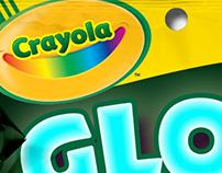 Crayola Glow Sticks Packaging