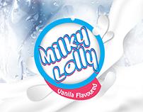 Label Design for Frozen Milky Pack
