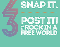 ROCK IN A FREE WORLD Posters