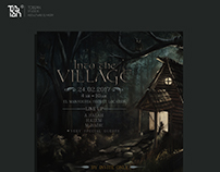 Into the village