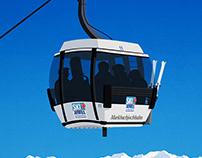 Niederau Ski Poster